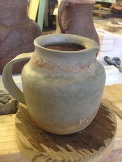 Sculpting a pot/vase