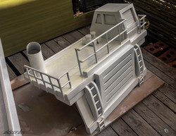 fabricated truck progress