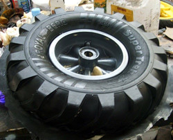 Fabriacted tyre