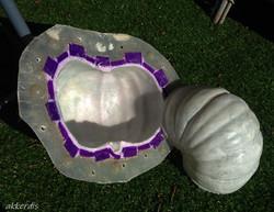 mould making & casting pumpkin