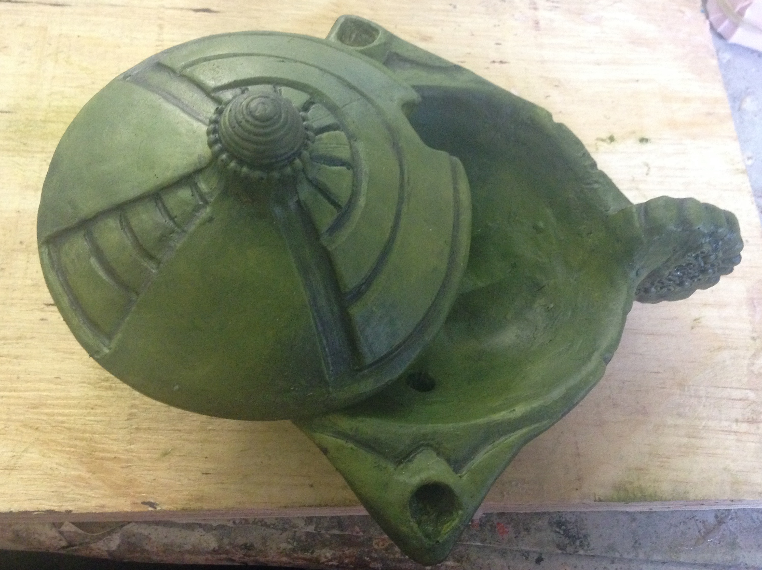 Fabricated pot