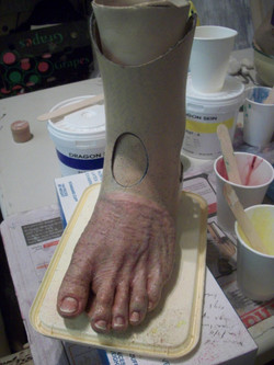 Prosthetic partial foot
