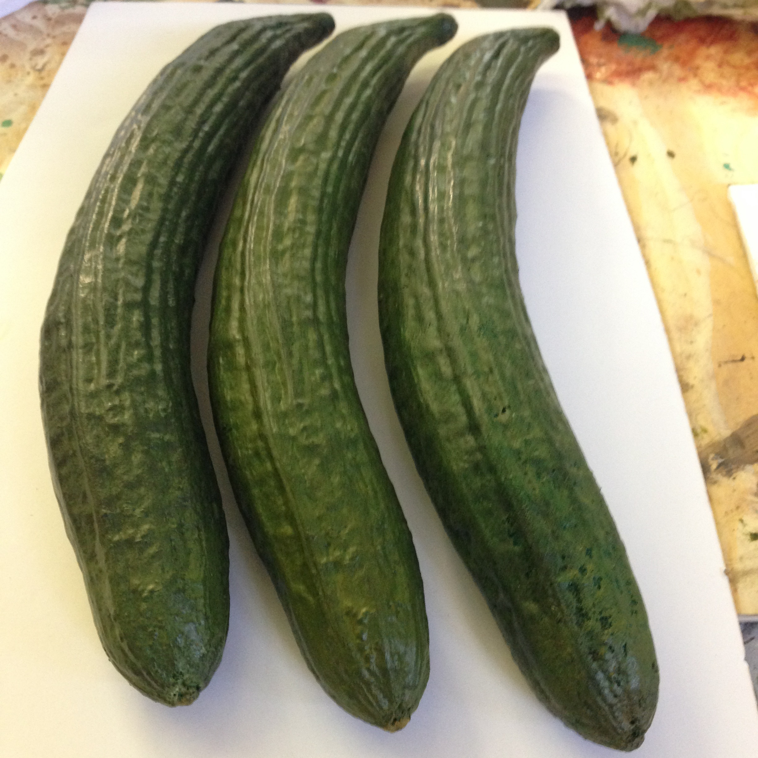 Fabricated cucumbers
