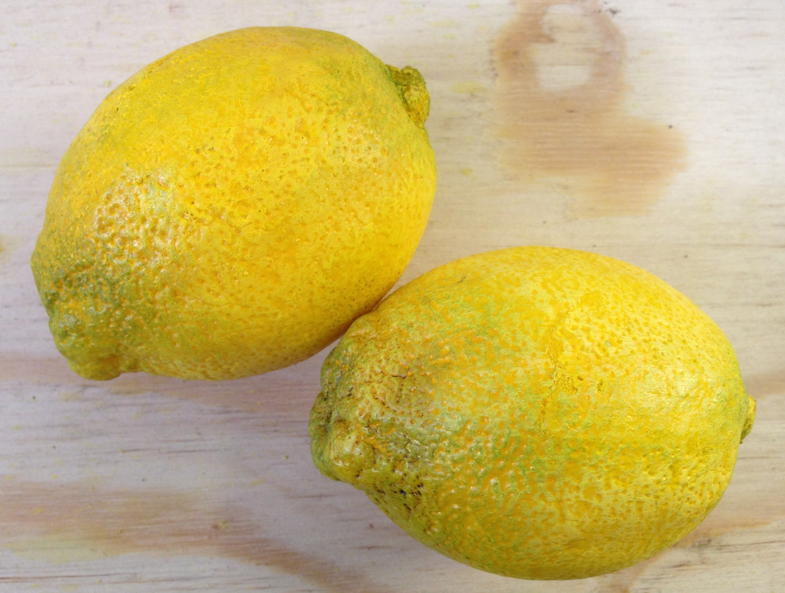 Fabricated lemons