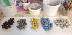 Fabricated eggs