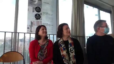 Visio conférence en direct JPO virtuelle Présentation STD2A