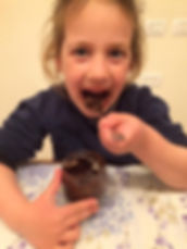 מתכון פרלינים בריאים משוקולד