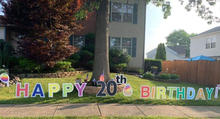 happy 20 bday 18 in letters