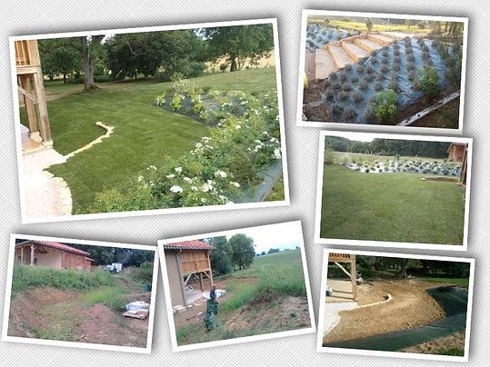 Landscape gardener gardening Gers France Toulouse Landscaping