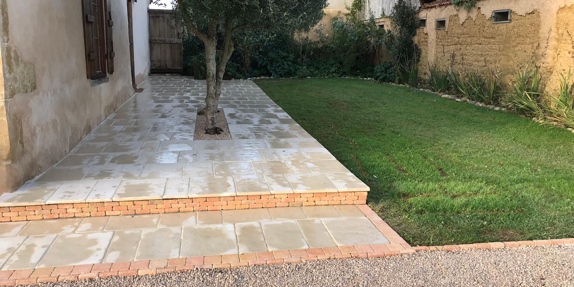 tiling after