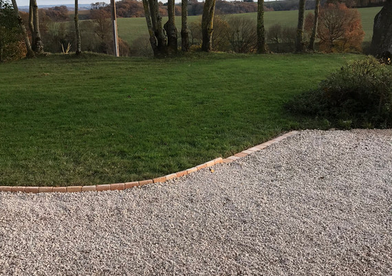 edging after