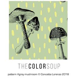 grey mushroom