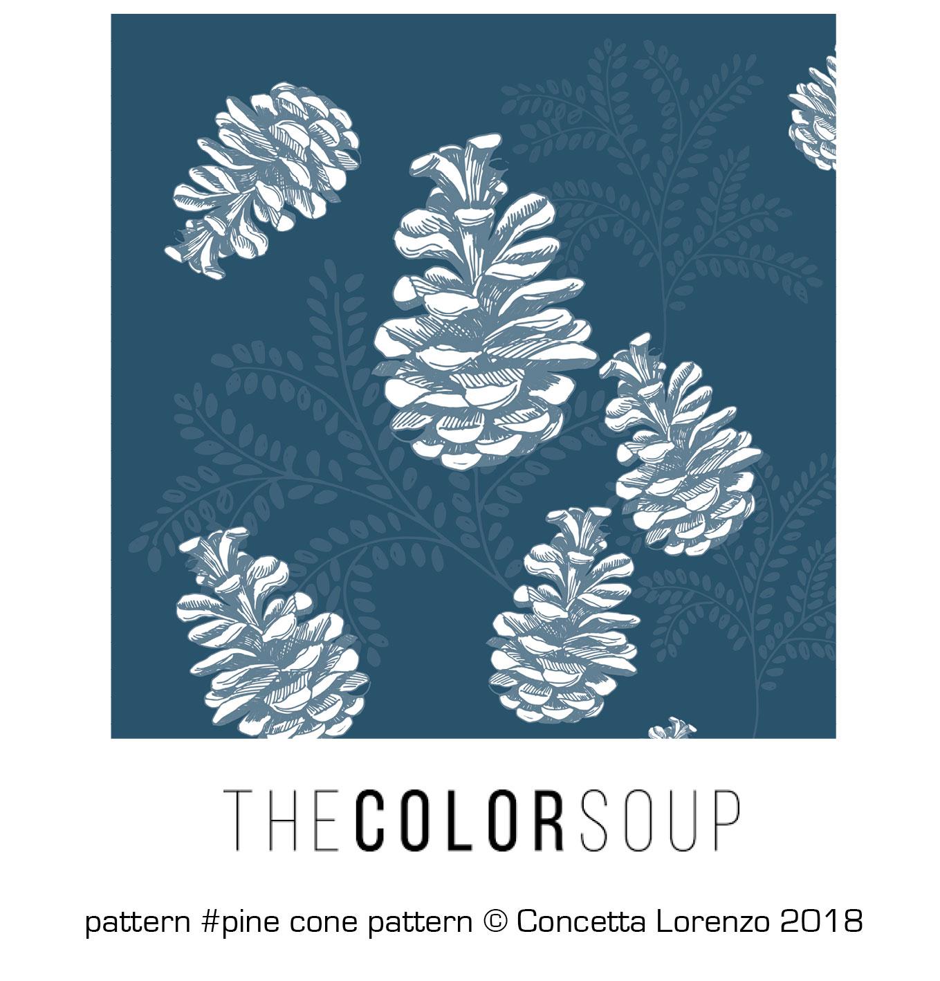 pine cone pattern