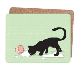 the greedy cat_placemats