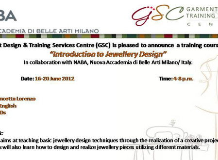 Introduction to Jewelry Design