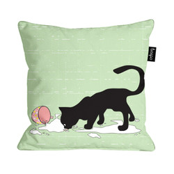 the greedy cat_cushion