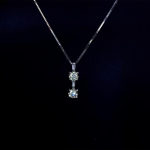 Diamond Pendant 900 Platinum