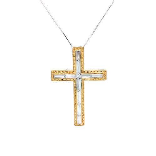Diamond Pendant 18K Yellow Gold
