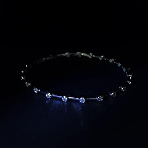 Diamond Bracelet 18K White Gold
