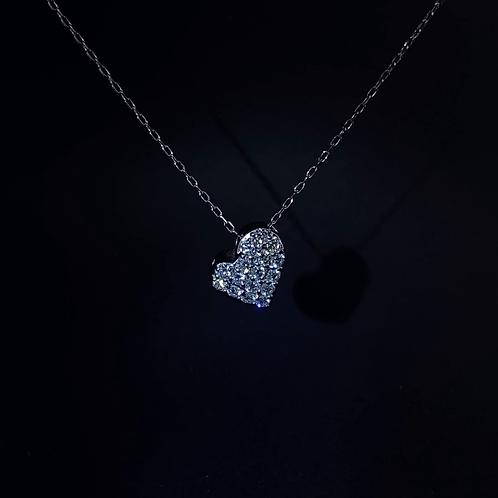 Diamond Necklace 850 Platinum & 900 Platinum