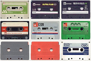 Cassette tapes beat tape