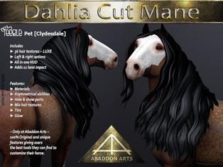 ABADDON ARTS - Dahlia Cut Mane