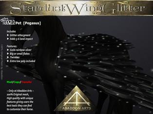 ABADDON ARTS - Stardust Wing Glitter