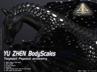 ABADDON ARTS - Yu Zhen Kirin Body Scales