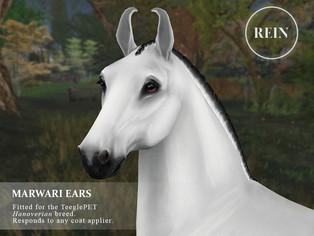 [REIN] Marwari Ears (Hanoverian)