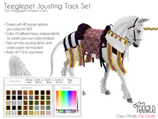 [Teegle] Jousting Tack Set