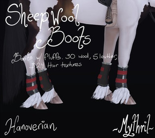 ~Mythril~ Sheepwool Boots