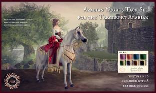 Jinx - Arabian Nights Tack Set