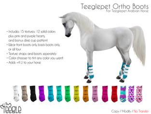 [Teegle] Ortho Boots
