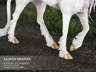 [REIN] Cloven Hooves (Unicorn)