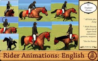 BRR: English Rider Animations