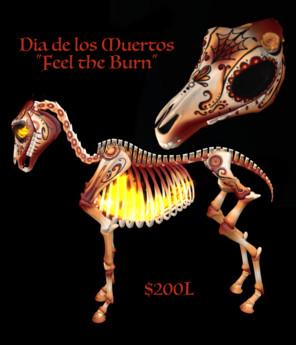 En Pointe - Skeleton Horse Textures