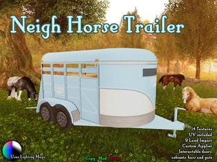 Error:407 - Neigh Horse Trailer