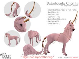 [Teegle] Debutaunte Chains (Unicorn)