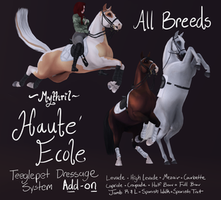 ~Mythril~ Haute Ecole Addon for Dressage System
