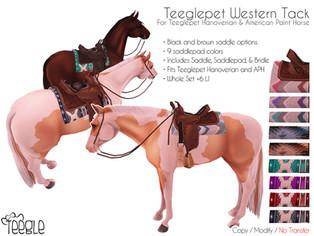 [Teegle] Western Tack