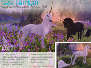 """Fable"" the Unicorn"