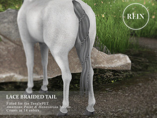 [REIN] Lace Braided Tail