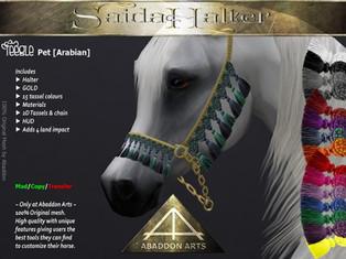ABADDON ARTS - Saida Halter