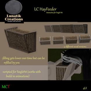 Lunatik Creations - Hay Feeder