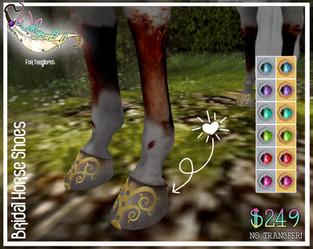 ::Whymsikal:: - Bridal Horse Shoes