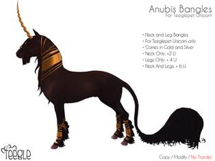 [Teegle] Anubis Bangles