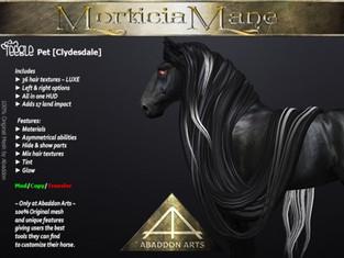 ABADDON ARTS - Morticia Mane