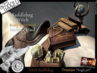 ABSOLUT CREATION - Saddlebag Witch