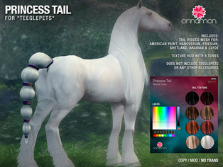 CINNAMON - Princess Tail