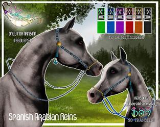 ::Whymsikal:: - Spanish Arabian Reins